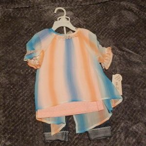 Little Lass Matching Sets - Toddler girls outfit
